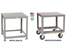 ALL-WELDED HEAVY DUTY STEEL TABLES
