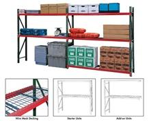 FastRak™ BULK STORAGE RACK UNITS WITH WIRE MESH DECKING